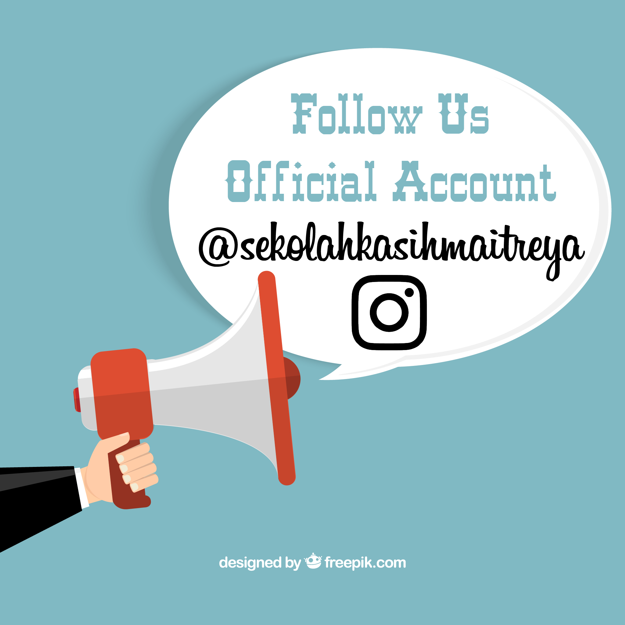 Follow us Instagram @sekolahkasihmaitreya